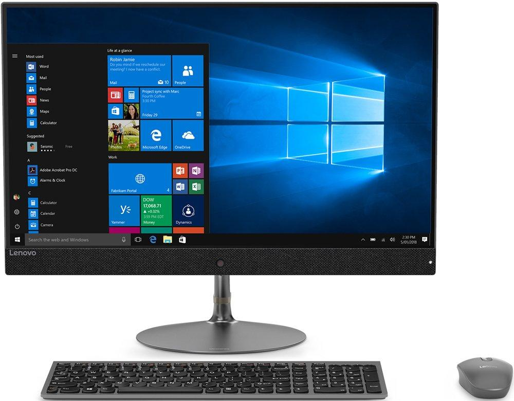 Моноблок Lenovo IdeaCentre AIO730S-24IKB 23.8'' FHD(1920x1080)/Intel Core i5-8250U 1.60GHz Quad/8GB/1TB/GMA HD/RD 530 2GB/DVD-RW