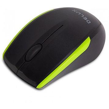 Мышь, Delux, DLM-321OGB, Оптическая, 800/1000/1600 dpi,Беспроводная 2.4ГГц