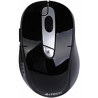 Мышь беспроводная A4tech G11-570FX BLACK-SILVER Оптическая 2,4G USB 2000 dpi