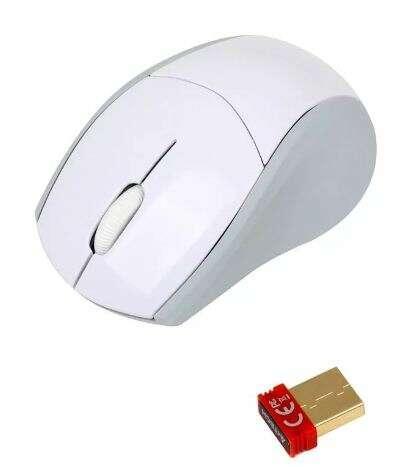 Мышь беспроводная A4tech G7-100N-2 WHITE Оптическая 2,4G USB 1000 dpi