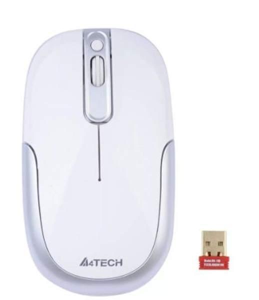 Мышь беспроводная A4tech G9-110 WHITE Оптическая 2,4G USB 1000 dpi
