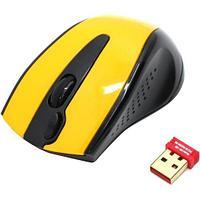 Мышь беспроводная A4tech G9-500F-2 BLACK-YELLOW Оптическая 2,4G USB 1000 dpi