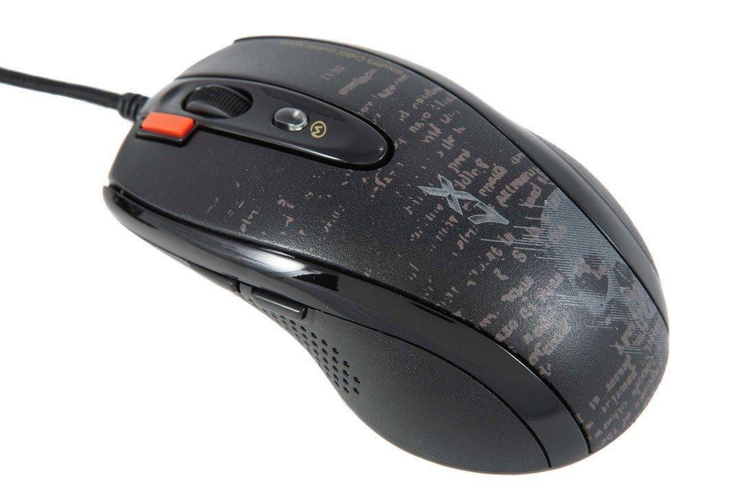 Мышь игровая A4tech X7 F5 BLACK Оптическая USB 3000 dpi