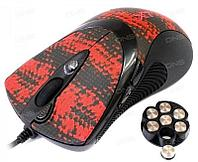 Мышь игровая A4tech X7 XL-740K BLACK Лазерная USB 3600 dpi
