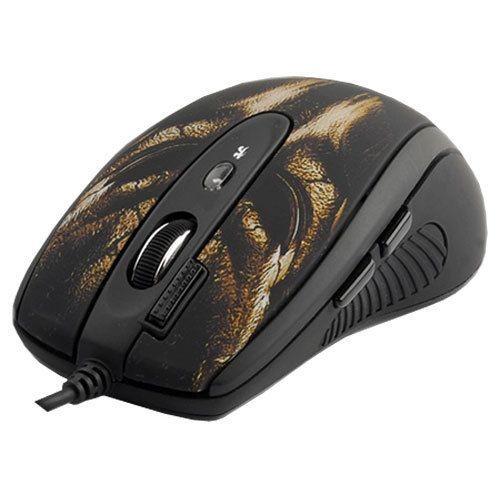 Мышь игровая A4tech X7 XL-750BH BLACK Лазерная USB 3600 dpi