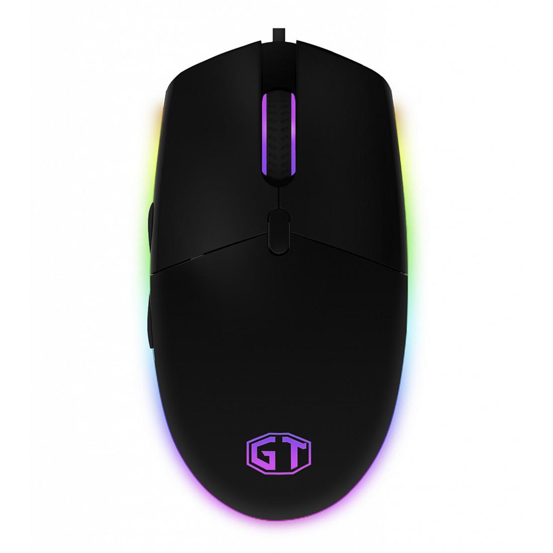 Мышь, Delux, GTM-630OUB, Игровая, Оптическая, 1000-4000dpi