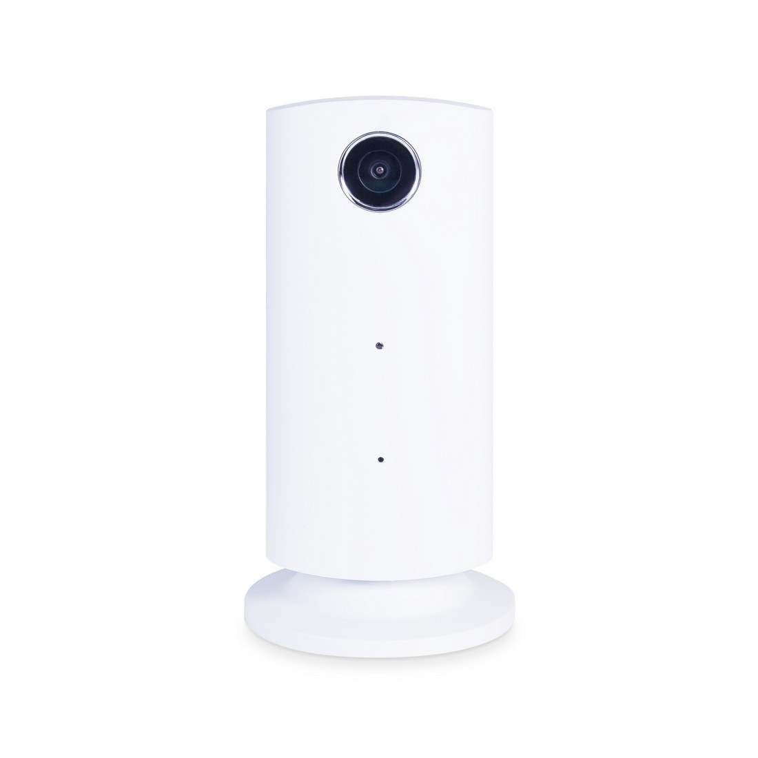 Видеоняня, JIMI, JH08, Wi-fi, HD 720p, SD карта до 32Gb, Датчик движения и звука, Поликарбонат, Белый