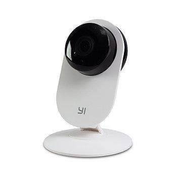 Цифровая камера видеонаблюдения, YI Home camera YHS-113-IR (6926930111095),IP-камера,720p,5V/1A,Двусторонняя аудиосвязь, Белый