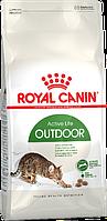 Royal Canin Outdoor сухой корм для кошек активных и часто бывающих на улице