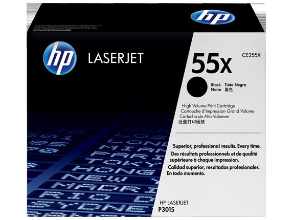 HP CE255X Black Print Cartridge