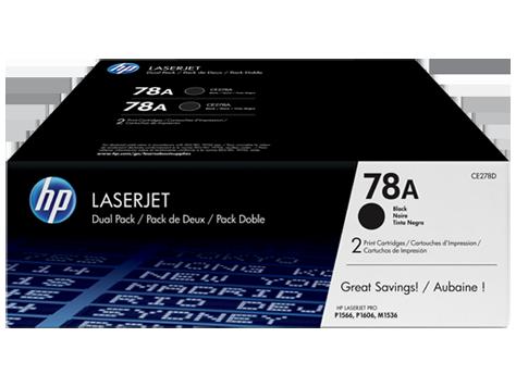 HP CE278AF 78A Dual Black Print Cartridge