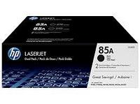 HP CE285AF 85A Black Dual Black Print Cartridge