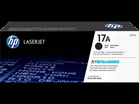 HP CF217A 17A Black Original LaserJet Toner Cartridge