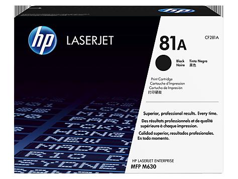 HP CF281A 81A Black Toner Cartridge