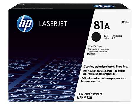 HP CF281X 81X Black Toner Cartridge