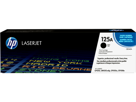 HP CB540A Black Print Cartridge Toner