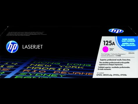 HP CB543A Magenta Print Cartridge Toner