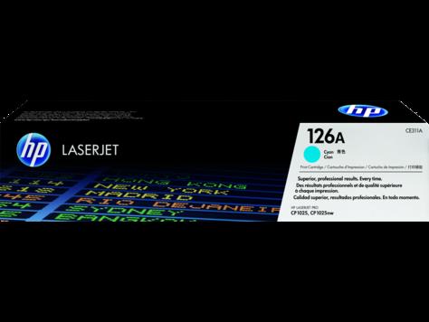 HP CE311A Cyan Print Cartridge