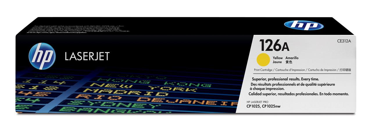HP CE312A Yellow Print Cartridge