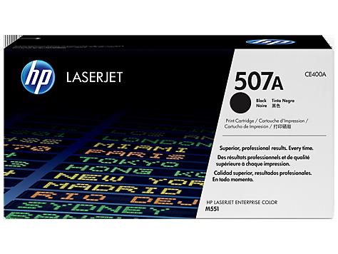 HP CE400A 507A Black Cartridge