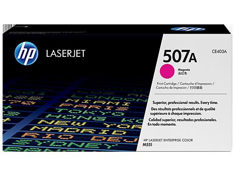 HP CE403A 507A Magenta Cartridge