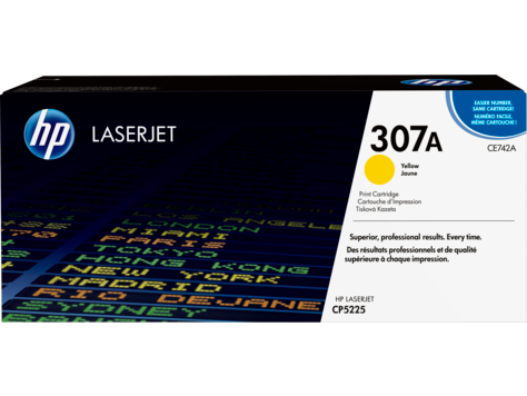 HP CE742A Yellow Print Cartridge