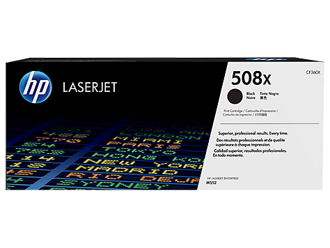 HP CF360X 508X Black LaserJet Toner Cartridge