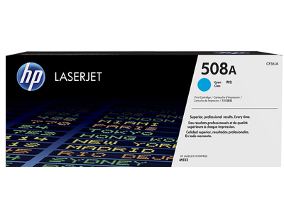 HP CF361A 508A Cyan LaserJet Toner Cartridge