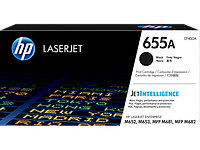 HP CF450A HP 655A Black LaserJet Toner Cartridge