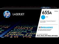 HP CF451A HP 655A Cyan LaserJet Toner Cartridge