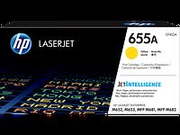 HP CF452A HP 655A Yellow LaserJet Toner Cartridge