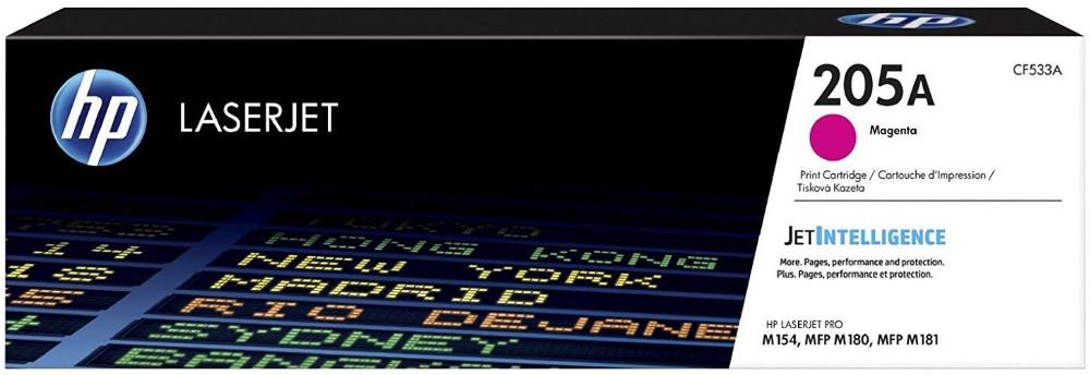 HP CF533A HP 205A Magenta LaserJet Toner Cartridge