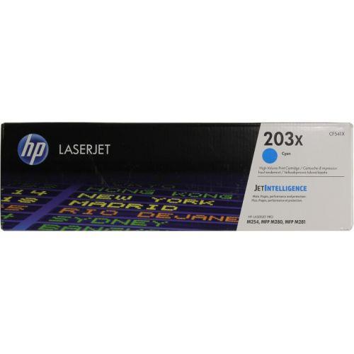 HP CF541X HP 203X Cyan LaserJet Toner Cartridge