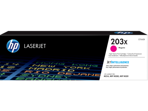 HP CF543X HP 203X Magenta LaserJet Toner Cartridge