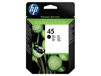 HP 51645AE Large Black Inkjet Print Cartridge №45