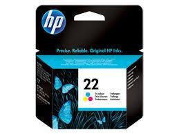 HP C9352AE Tri-color Inkjet Print Cartridge №22