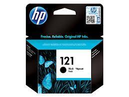 HP CC640HE Black Ink Cartridge №121