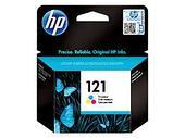 HP CC643HE Tri-Colour Ink Cartridge №121