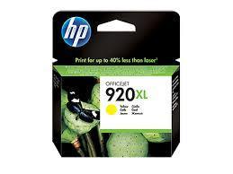 HP CD974AE Yellow Ink Cartridge №920XL
