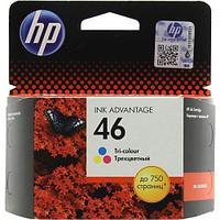 HP CZ638AE Tri-color Ink Advantage Cartridge №46