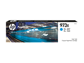 HP F6T81AE 973X Cyan Original PageWide Cartridge
