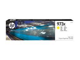 HP 973X Yellow Original PageWide Cartridge
