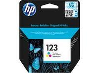 HP F6V16AE 123 Tri-color Ink Cartridge