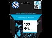 HP F6V17AE 123 Black Ink Cartridge