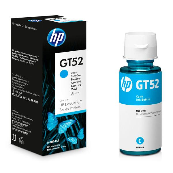 HP M0H54AE GT52 Cyan Original Ink Bottle