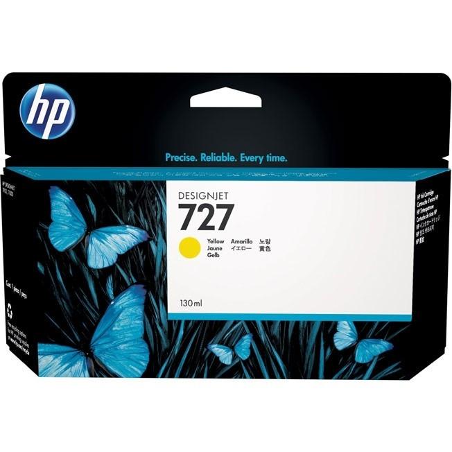 HP B3P21A Yellow Ink Cartridge №727