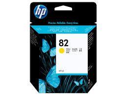 HP C4913A Yellow Ink Cartridge №82