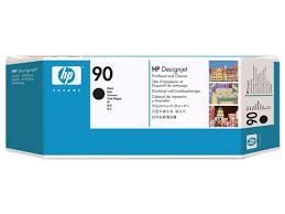 HP C5054A Black Printhead and Printhead Cleaner №90