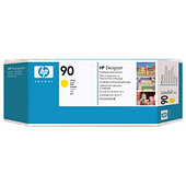 HP C5057A Yellow Printhead and Printhead Cleaner №90