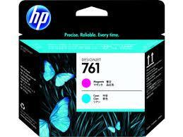 HP CH646A Magenta and Cyan Inkjet Printhead №761